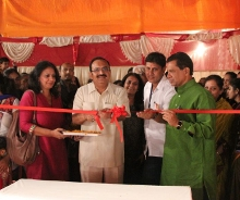 Inaugration_by_Hon._Minister_Shri_Sanjay_Deotale_of_Environment_and_Culture_of_Maharangoli_and_Eco-Ganesha_exhibition